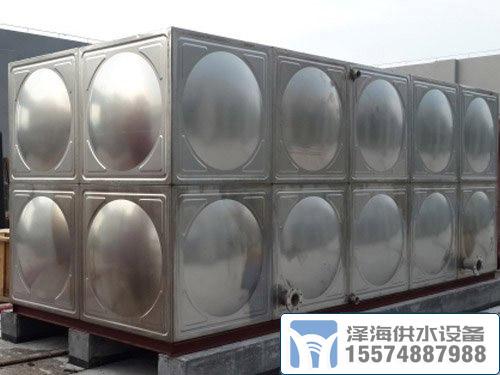 组合式不锈钢水箱安装找长沙水箱厂