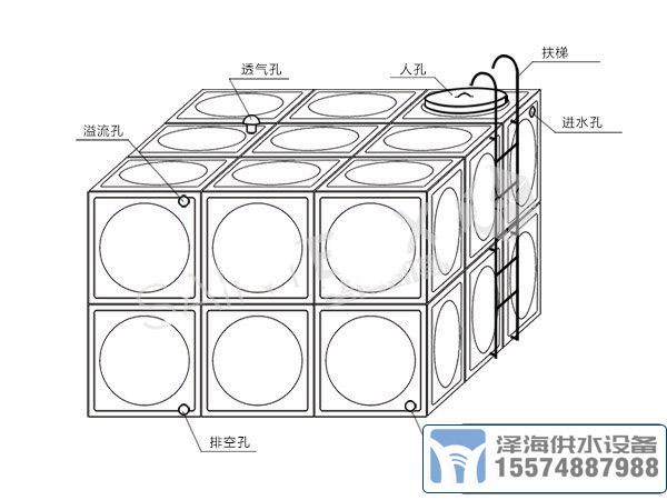 十立方不锈钢水箱规格价格
