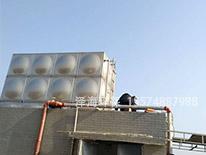 望城不锈钢水箱施工现场