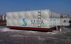 不锈钢水箱形状分类与结构组成